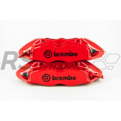 Megane 3 RS - Remklauwenset rood Brembo