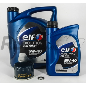 ELF 5W40 900SXR Oliebeurt set